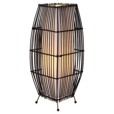 Luminária Mesa 1 Lâmpada Bambu Hcn