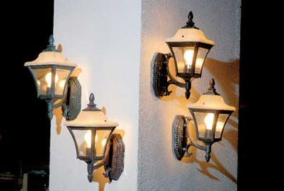 Arandela Alabastro 1 Lâmpada, Rústico, Bivolt