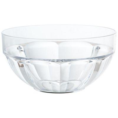 Bowl Salada Facetado Clear Transparente