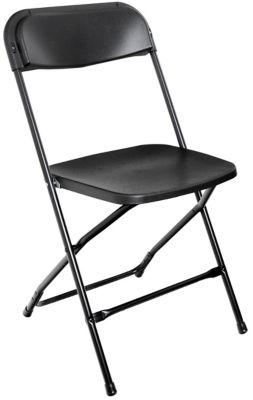 Cadeira Dobrável PP, Preto