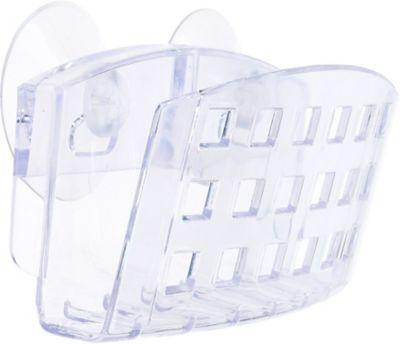 Porta Esponja Cozinha com Ventosa Acrílico, Transparente