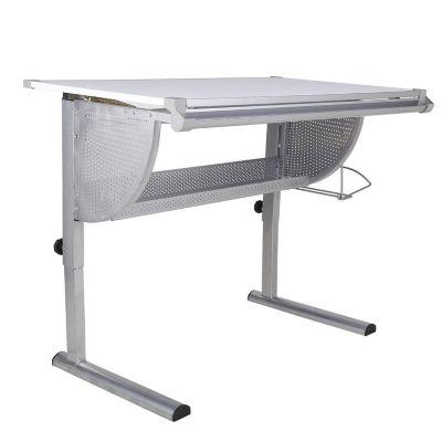 Mesa para Desenho Técnico 117x93x72cm Prata