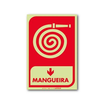 Sinal PVC Mangueira