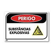 Sinal PVC Substâncias Explosivas