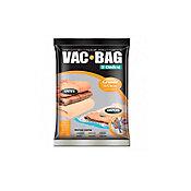 Saco para Armazenamento à Vácuo Bag Grande Transparente 55x9