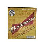 Conjunto de Copos de Cerveja 2 Peças Budweiser 400ml Transparente