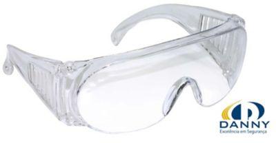 Óculos de Segurança Netuno Sobreposição, Transparente