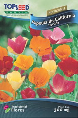 Semente Flor Papoula-Califórnia, Sortida