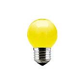 Lâmpada Incandescente Bolinha Luz Amarela 15W 127V