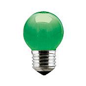 Lâmpada Incandescente Bolinha Verde 15W 220V
