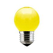 Lâmpada Incandescente Bolinha Luz Amarela 15W 220V