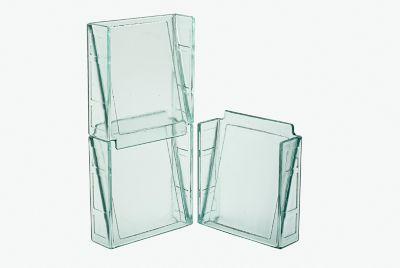 Veneziana de Vidro Cristal 20x20x06cm Incolor