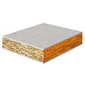 Placa Cimentícia para Mezanino de Fibrocimento 120x250cm Madeira