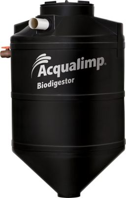 Biodigestor 600L Polietileno Preto