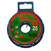 Arame Multiuso Fio BWG 26 com PVC, Verde, 25cm