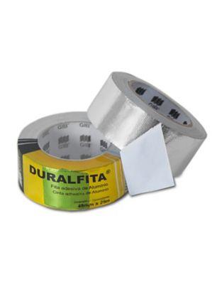 Fita Adesiva de Alumínio Duralfita 4,8cm x 25m Transparente