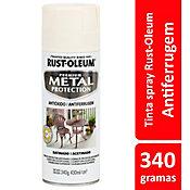 Tinta Spray Acetinado Metal Protection 340ml Creme