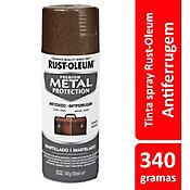 Tinta Spray Martelado Metal Protection 340ml Marrom