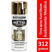 Tinta Spray Metálico Metal Protection 312ml Ouro