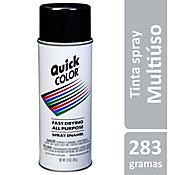 Tinta Spray Brilhante Quick Color 358ml Preto