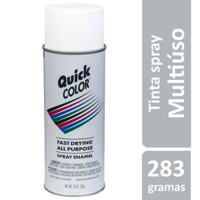 Tinta Spray Fosco QuickColor 358ml Branco