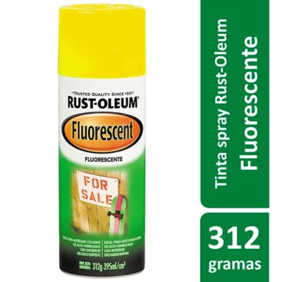 Tinta Spray Fluorescente Speciality 395ml Amarelo