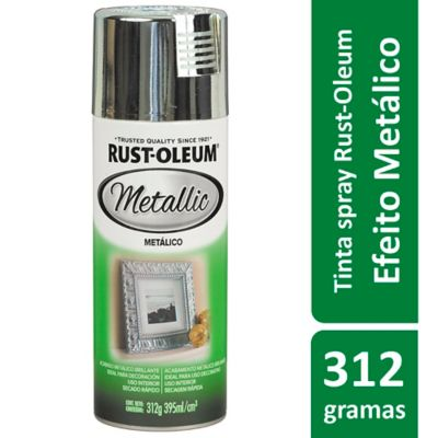 Tinta Spray Brilhante Speciality 395ml Prata