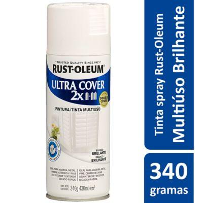 Tinta Spray Brilhante Ultra Cover 430ml Branco