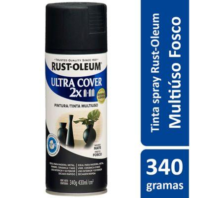 Tinta Spray Fosco Ultra Cover 430ml Preto