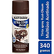 Tinta Spray Acetinado Ultra Cover 430ml Café