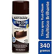 Tinta Spray Brilhante Ultra Cover 430ml Marrom