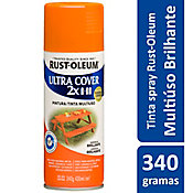 Tinta Spray Brilhante Ultra Cover 430ml Laranja