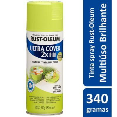 Tinta Spray Brilhante Ultra Cover 430ml Verde Lima