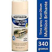 Tinta Spray Brilhante Ultra Cover 430ml Marfim