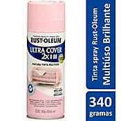 Tinta Spray Brilhante Ultra Cover 430ml Rosa Claro