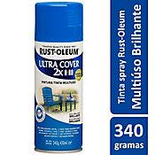 Tinta Spray Brilhante Ultra Cover 430ml Azul