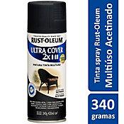 Tinta Spray Acetinado Ultra Cover 430ml Preto