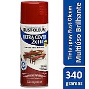 Tinta Spray Brilhante Ultra Cover 430ml Vermelho