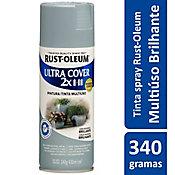 Tinta Spray Brilhante Ultra Cover 430ml Cinza