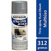 Tinta Spray Brilhante Ultra Cover 430ml Alumínio