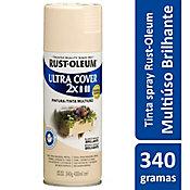 Tinta Spray Brilhante Ultra Cover 430ml Branco Navajo