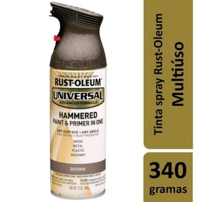 Tinta Spray Martelado Universal 312ml Marrom