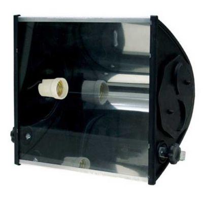 Refletor TA 160 E27 Material Plástico de Engenharia, Cromado