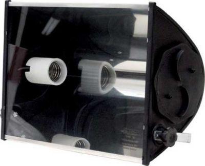 Refletor TA 400 E27 Material Plástico de Engenharia, Cromado