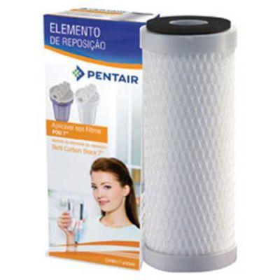 """Refil Para Filtro De Água Hidrofiltros Carbon Block 7"""" 907-0023 Para Ponto De Consumo Cozinha Na Parede / Acoplado Torneira / Bebedouro"""