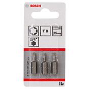 Bits Torx N8 Com 3 Unidades