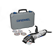 Dremel Saw-Max Mini-Serra Multiuso Compacta com 1 Acoplamento, 4 Discos e Maleta 127V
