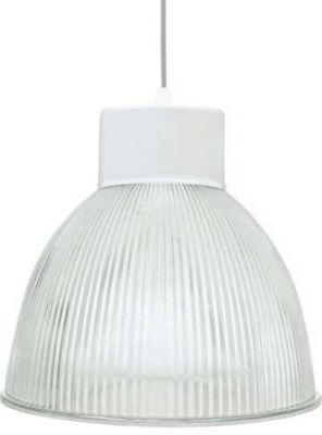 Luminária Prismática TD 920/19 E27, Branco
