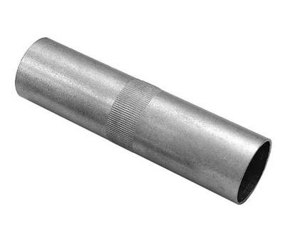 Emenda para Varão Alumínio 28mm Prata