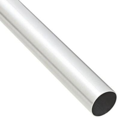 Varão de Alumínio com Verniz, 19mm, 2M, Aço Escovado